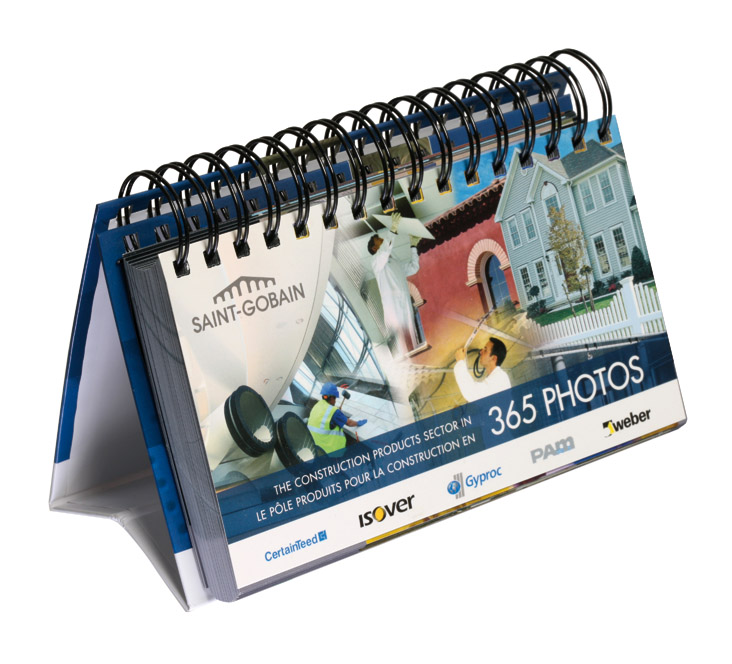 Calendrier Perpetuel Personnalise 365 Jours.Fabricant De Calendriers Calendrier Bancaire Mural